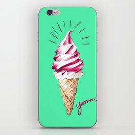Yummy Ice Cream   Digital Art iPhone Skin