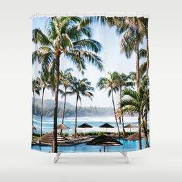 Turtle Bay Memories Shower Curtain