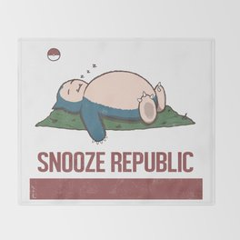 Snooze Republic Throw Blanket