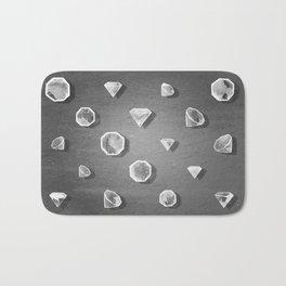 Diamantes Bath Mat
