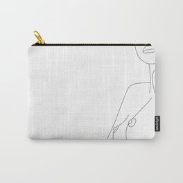 Nude Line Carry-All Pouch