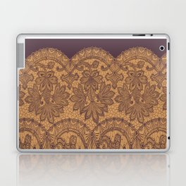 lace border stretched tonal Laptop & iPad Skin