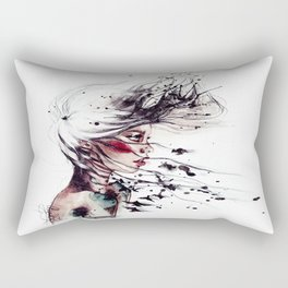Her name I ask. Freedom, she replies.  Rectangular Pillow