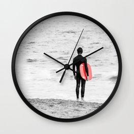 Red Board Wall Clock