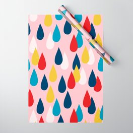 Happy Rain Wrapping Paper