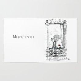 A Few Parisians: Monceau by David Cessac Rug