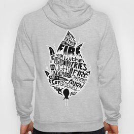Lab No. 4 Chances Will Burn Very Briefly Stephen R. Covey Motivational Quotes Hoody