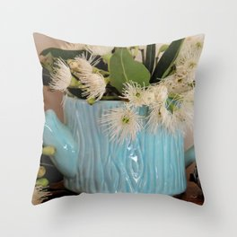 Gum Blossom Throw Pillow