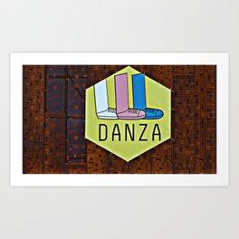 Danza! Art Print