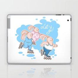 Roller skates Laptop & iPad Skin