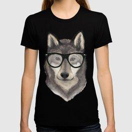 Hipster Wolf T-shirt