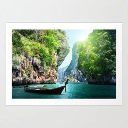 Krabi, Thailand Art Print