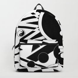 Yin Yang Orbit (2) Backpack