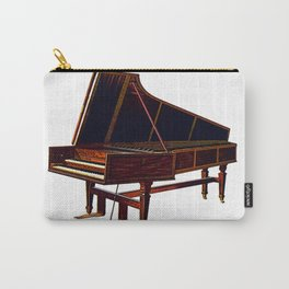 Old piano Carry-All Pouch