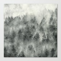 skeleton Canvas Prints featuring Everyday by Tordis Kayma