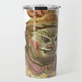 Buddhist statue Travel Mug