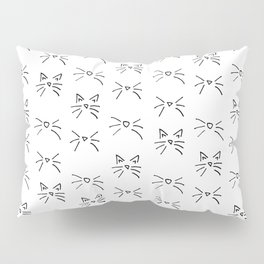 Kitty Whiskers Pillow Sham