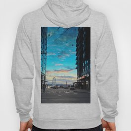 Seattle Summer Sunset Hoody