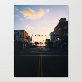 Venice Beach Classic Canvas Print