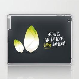 Endive au jambon sans jambon Laptop & iPad Skin