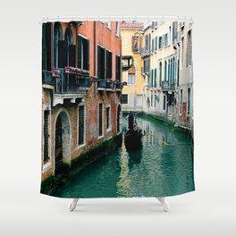 Venice Streets Shower Curtain