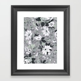 Flowers -a55 Framed Art Print