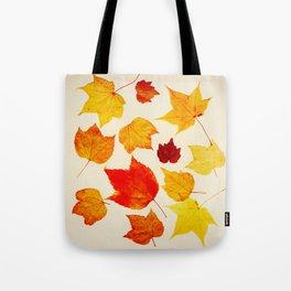 AUTUMN LEAF LITTER Tote Bag