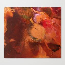 Lumières cuivrées Canvas Print