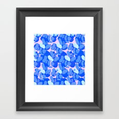 ocean cells Framed Art Print