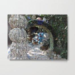 Mosaic Garden Metal Print