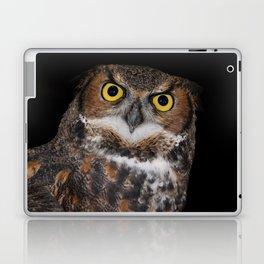 Eli - Great Horned Owl II Laptop & iPad Skin