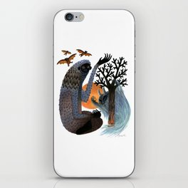 Big Foot's Demons iPhone Skin