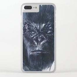 Concept Art Kong Clear iPhone Case
