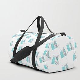 Blue Jewelry Box Duffle Bag