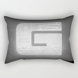 The Ghost of Gamers Past Rectangular Pillow