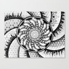 Spiral Universe Canvas Print