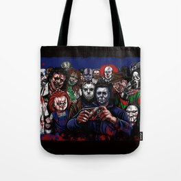 Horror Villains Selfie Tote Bag