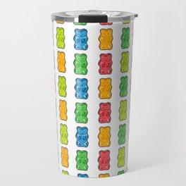 Rainbow Gummy Bears Travel Mug
