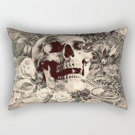 The Final Curtain (Sepia) Rectangular Pillow
