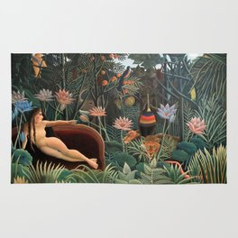 Henri Rousseau - The Dream Rug