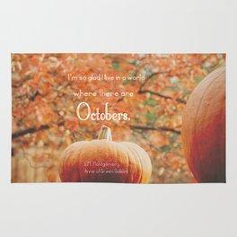 October Rug