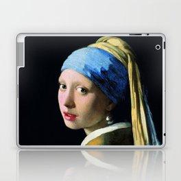 Jan Vermeer Girl With A Pearl Earring Baroque Art Laptop & iPad Skin
