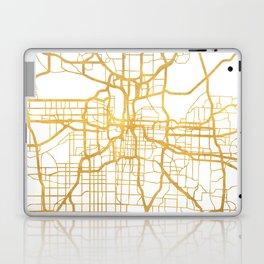 KANSAS CITY MISSOURI CITY STREET MAP ART Laptop & iPad Skin
