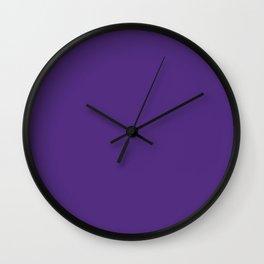 Regalia - solid color Wall Clock