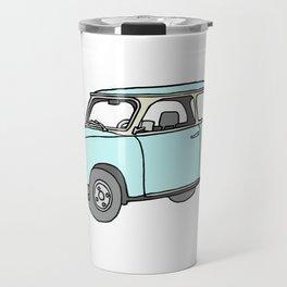 Trabant or Trabi. Car of GDR Travel Mug