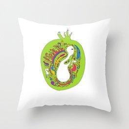 BIRTH ∞ Throw Pillow
