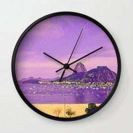 Rio de Janeiro - Pão de Açúcar - Art 026 Wall Clock