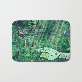 Death and Consequence Bath Mat