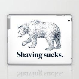 SHAVING SUCKS Laptop & iPad Skin