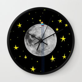 Seeding stars Wall Clock